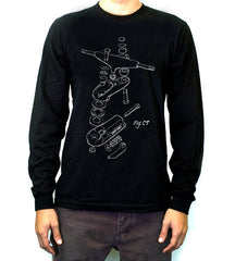 Clearance | 'C7 Exploded' Long Sleeve T-Shirt