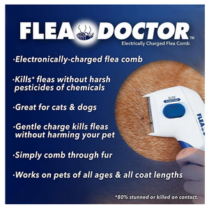 FLEA DOCTOR - ELECTRONIC FLEA COMB