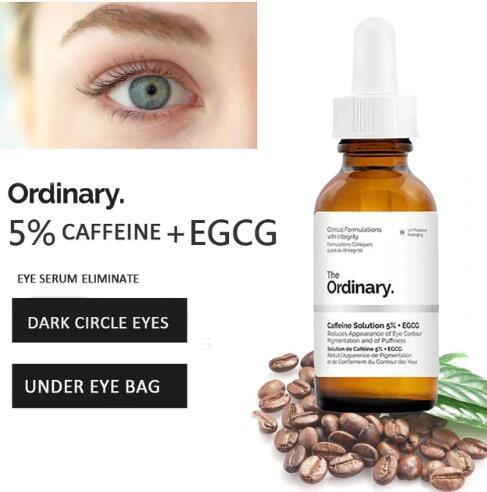 VIBRANT GLAMOUR 5% Caffenie + EGCG Eye Serum for Wrinkles Dark Circle Puffiness