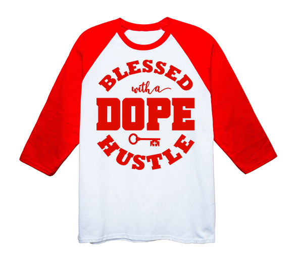 """Blessed with a DOPE Hustle"" - Jerseys"