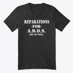Reparations Tee - Ladies V Neck