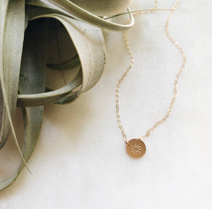 Sunshine Necklace- In memory of Molly Clee