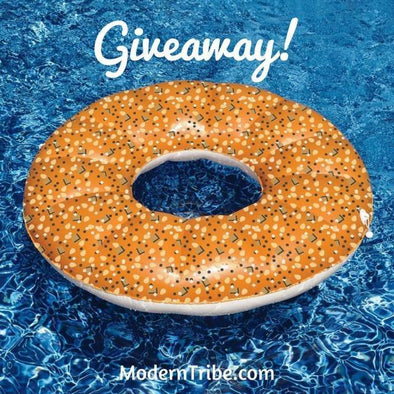 Bagel Pool Float Giveaway! (Closed)
