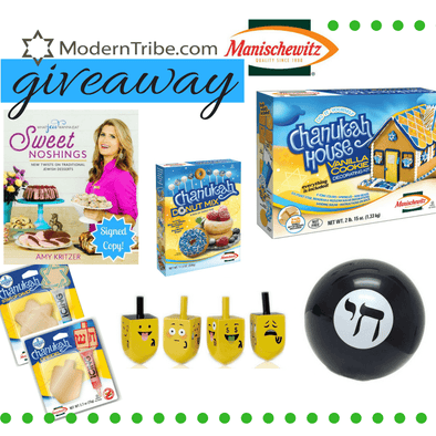 Hanukkah Giveaway with ModernTribe + Manischewitz