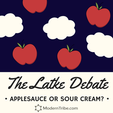 Applesauce or Sour Cream: The Latke Debate