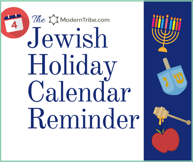 The Jewish Holiday Calendar Reminder