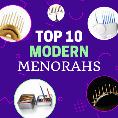 Top 10 Modern Menorahs