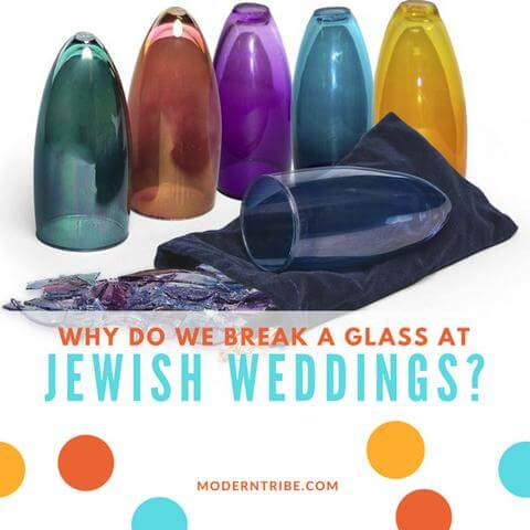 Break a Glass at Jewish Weddings