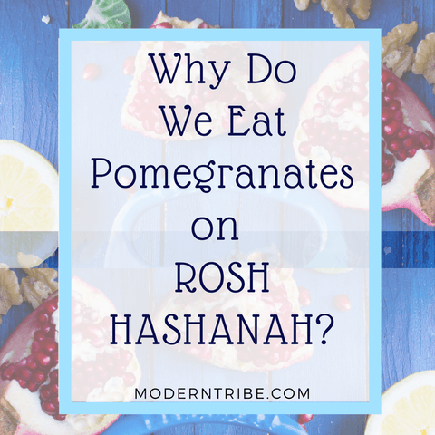 Pomegranates on Rosh Hashanah