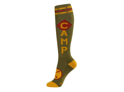 Camp Knee High Socks by Gumball Poodle by Gumball Poodle - ModernTribe