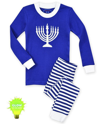 Menorah Long John Pajamas