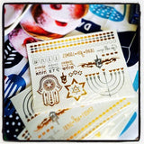Gold & Silver Metallic Temporary Flash Tattoos by ModernTribe - ModernTribe - 3