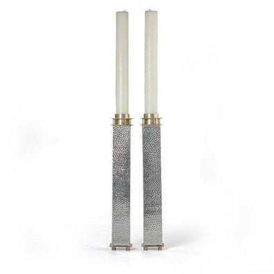 "8"" Tall Square Candle Holders by Joy Stember - ModernTribe"