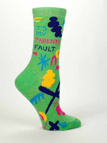 It's My Parents' Fault Socks by Blue Q - ModernTribe