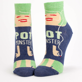 Pot Monster Ankle Socks by Blue Q - ModernTribe - 1