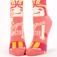 Sugar Monster Ankle Socks by Blue Q - ModernTribe - 1