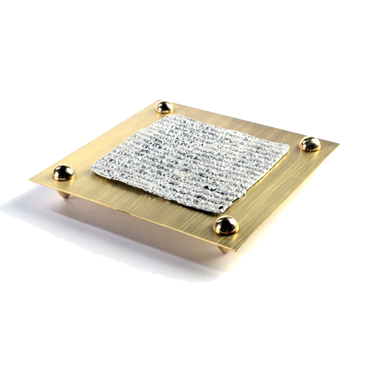 Brass Matzah Plate by Joy Stember - ModernTribe