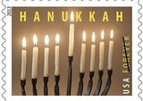 Classic Curve Menorah - As Seen on the USPS Hanukkah Stamp by Blackthorne Forge - ModernTribe - 2