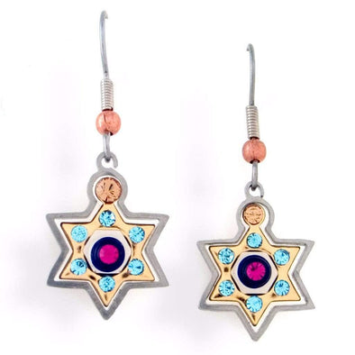 Seeka Star of David Earrings - ModernTribe