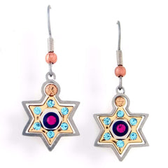 Seeka Star of David Earrings