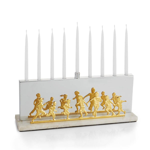 Michael Aram Menorah Playful Children Menorah by Michael Aram