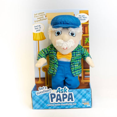 Ask Papa - Talking Grandfather Doll