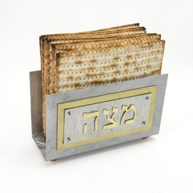 Upright Matzah Holder by Joy Stember