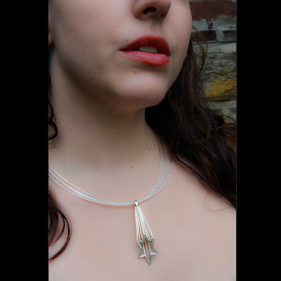Shooting Star of David Necklace by Joy Stember - ModernTribe - 1