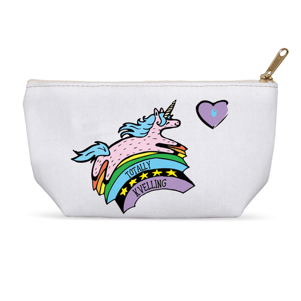 Totally Kvelling Jewnicorn Accessories Pouch