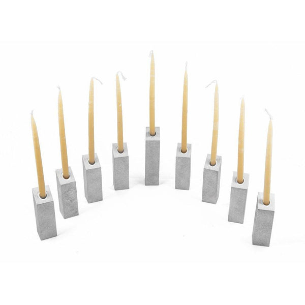 Joy Stember Menorah Leah Menorah by Joy Stember