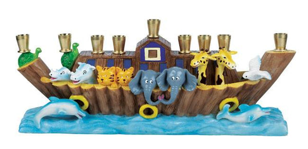Noah's Ark Children's Menorah - ModernTribe