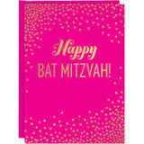 Bat Mitzvah Card by Waste Not Paper - ModernTribe
