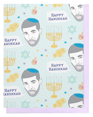 Drake Happy Hanukkah Card, Box of 6
