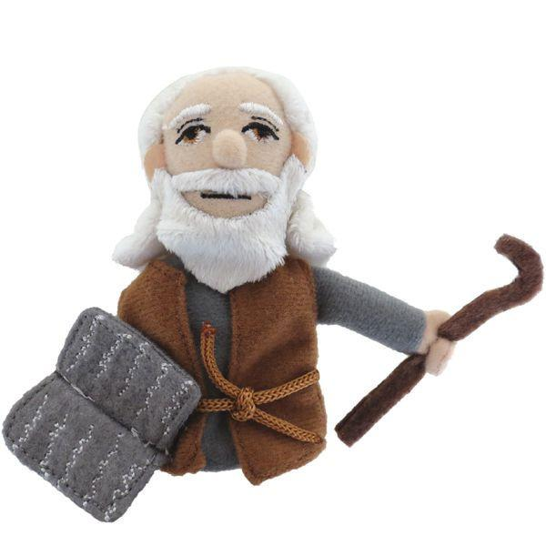 Unemployed Philosopher's Guild Toy Multicolored Moses Finger Puppet