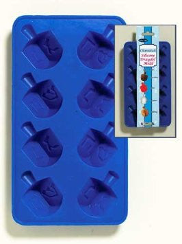 Kosher Cook Kitchen Utensils Blue Dreidel Kosher Kubes 3-in-1 Tray