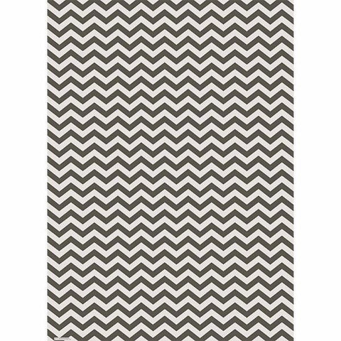Slate Chevron Wrapping Paper - Rolls by Waste Not Paper - ModernTribe