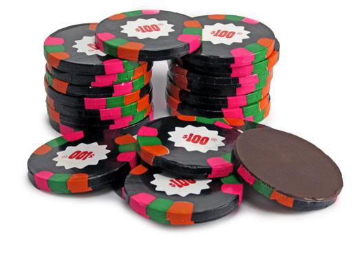 Madelaine Chocolate Candy Default Premium Chocolate Poker Chips - Chocolate Gelt - Dark Chocolate Mint