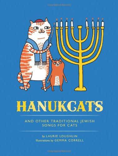 Hanukcats: and Other Traditional Jewish Songs for Cats Book - ModernTribe