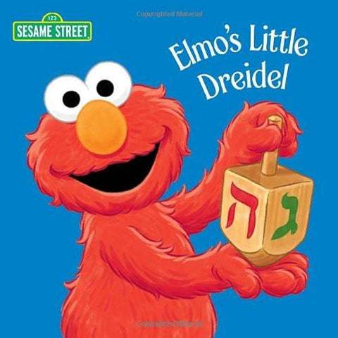 Elmo's Little Dreidel Board Book - Ages 1 to 3 by Baker & Taylor - ModernTribe