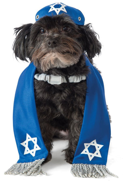 Other Pet Toy Dog Yarmulke and Tallis Set