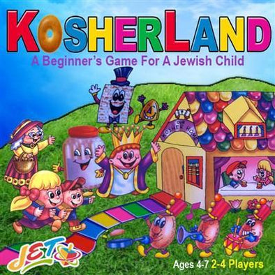 JET Game Kosherland Board Game
