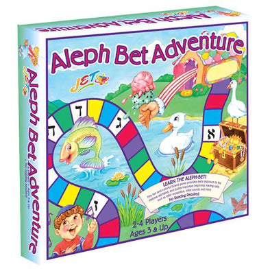 JET Games Aleph Bet Adventure Board Game
