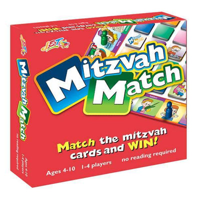 JET Games Mitzvah Match Board Game