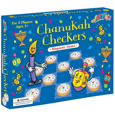 JET Games Chanukah Checkers Game