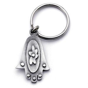 Hamsa Key Ring by Emily Rosenfeld Key Rings by Emily Rosenfeld - ModernTribe