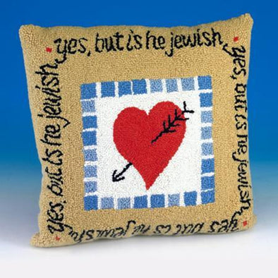 Yes, But is He Jewish? Pillow - ModernTribe