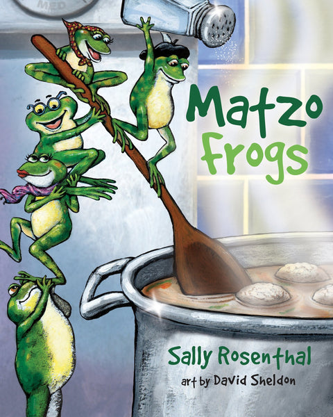 Baker & Taylor Book Hardcover Matzo Frogs - Ages 3 - 5