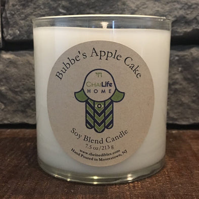 Bubbe's Apple Cake + HeBrew Soy Blend Candle Set
