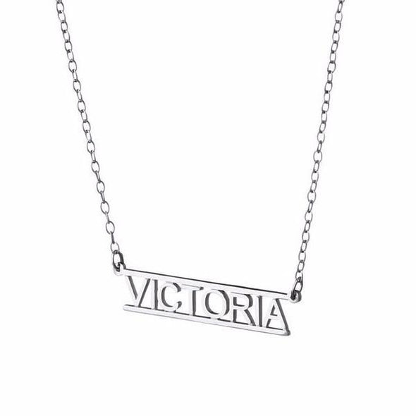 Personalized Bar Name Necklace by Deidreamers - ModernTribe - 1