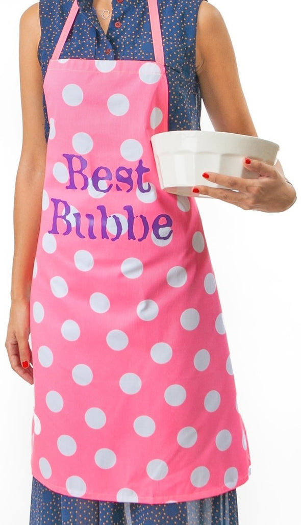 Best Bubbe Pink Apron